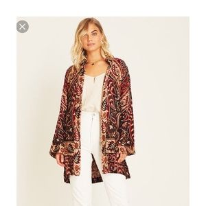 BNWT Arnhem Fleur Soft Jacket in Redwood Sz S
